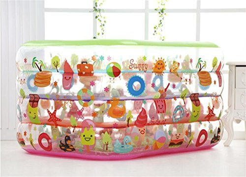 LQQGXL,Bath Environmental Inflatable Bathtub / Swimming Pool Child / Baby Electric Taps Pool (140 110 70cm) Inflatable bathtub by LQQGXL (Image #1)