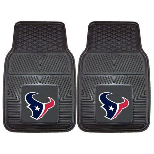 (Fanmats 8993 NFL-Houston Texans Vinyl Universal Heavy Duty Fan Floor Mat)