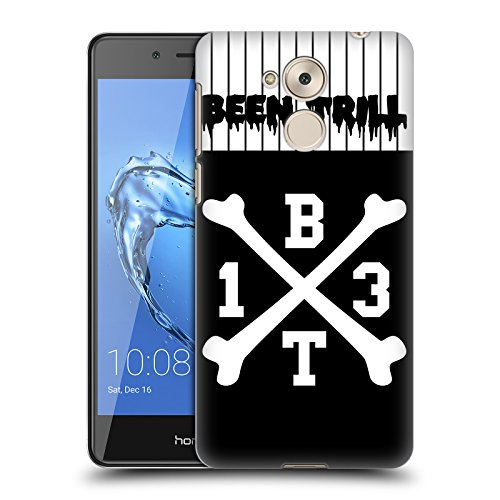 Hc Crossbones Jersey (Official Been Trill Crossbone Jersey Hard Back Case for Huawei Honor 6C Pro / V9 Play)