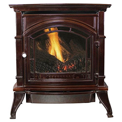 Sale!! Ashley Vent Free Stove Enameled Porcelain Cast Iron Fireplace