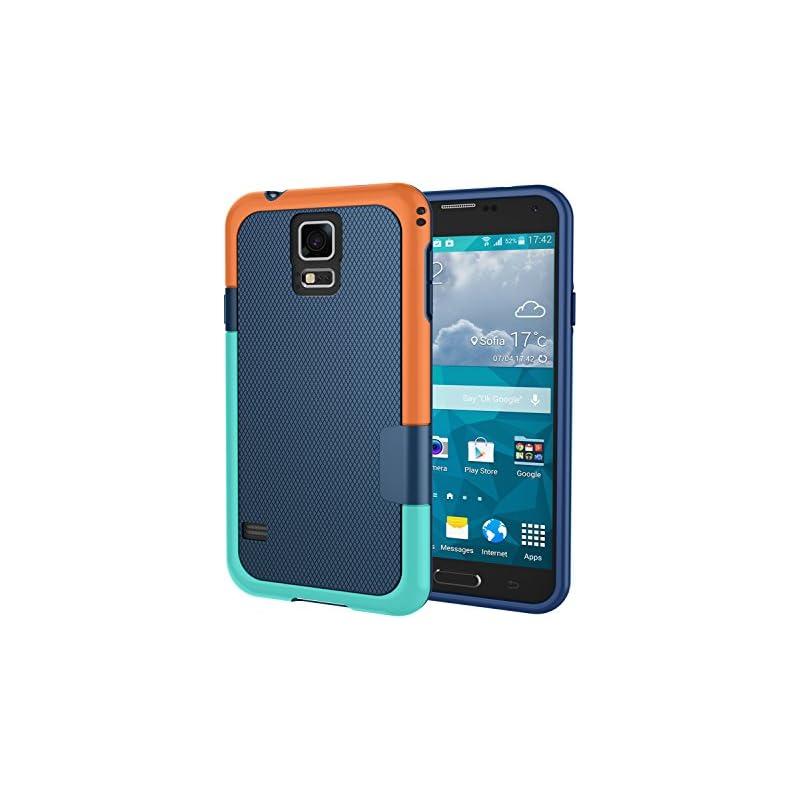 Galaxy S5 Case, Jeylly [3 Color] Slim Hy