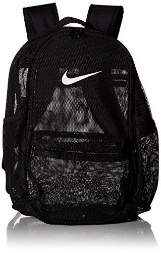 Nike Brasilia Mesh Training Backpack, BLACK/BLACK/WHITE