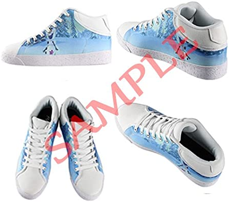 Amanda Rossi Go Customized Colorful dots New Canvas Sneaker Shoes for Men