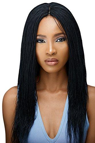 Micro Million Twist Wig - Color 1 (18 inches)