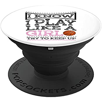 Basketball LOVE Pop Socket Player Christmas Birthday Gift - PopSockets Grip and Stand for Phones and Tablets