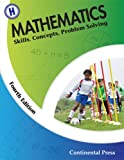 Mathematics: Skills, Concepts, Problem Solving, Continental Press Staff, 0845458647