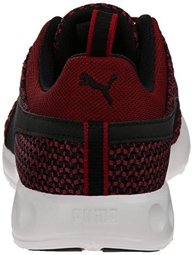 Puma Mens Carson Runner Sticka Spets-up Mode Sneaker Scooter / Svart