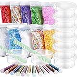 35 Pack Slime Making kit, Including 10 Pack Color