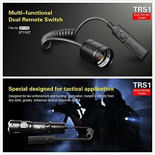 klarus Trs1/Multifonction Double Remote Switch Tenue sur Xt11gt Xt11s ext/érieur LED Tactique Lampe de Poche