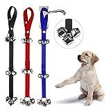 TRADERPLUS 3 Pcs Dog Doorbells Adjustable Puppy Bells for Potty Training