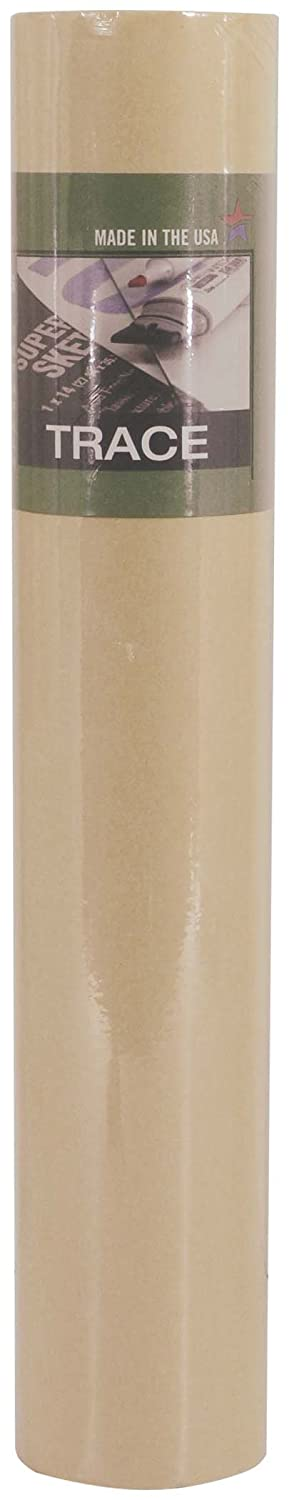 Canary Color PRO ART 12-Inch by 50-Yards Sketch Paper Roll