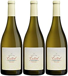 2015 Custard California North Coast Chardonnay 3 Pack, 3 x 750 mL Wine