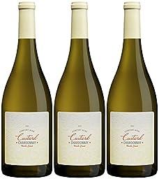 2015 Custard California North Coast Chardonnay 3 Pack, 3 x 750 mL Wine