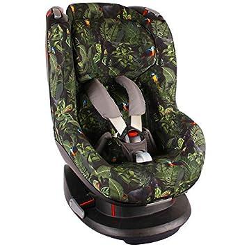 Bezug Maxi Cosi Tobi Kindersitz Grün Dschungel Schweißabsorbierend Und Weich Für Ihr Kind Schützt Vor Verschleiß Und Abnutzung Öko Tex 100 Baumwolle Baby