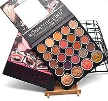 Cloxwg - Juego de sombras de ojos mate para maquillaje en polvo, paleta de maquillaje con purpurina y sombras de ojos: Amazon.es: Belleza