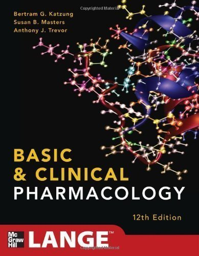 By Katzung, Bertram; Masters, Susan; Trevor, Anthony Basic and Clinical Pharmacology 12/E (LANGE Basic Science) 12th Edition Paperback