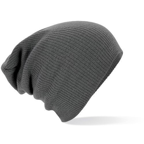 Beechfield - Slouch Beanie one size,Grey