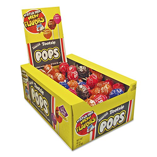 SCS Tootsie Pops Assorted - 100 ct. by Tootsie Pops