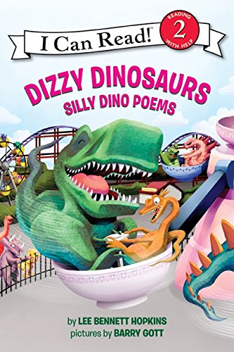 Dizzy Dinosaurs: Silly Dino Poems (I Can Read Level 2) PDF