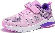 Bling Bo Kids Lightweight Breathable Running Sneakers Easy Walk Sport Casual Shoes for Boys Girls(Toddler/Litt