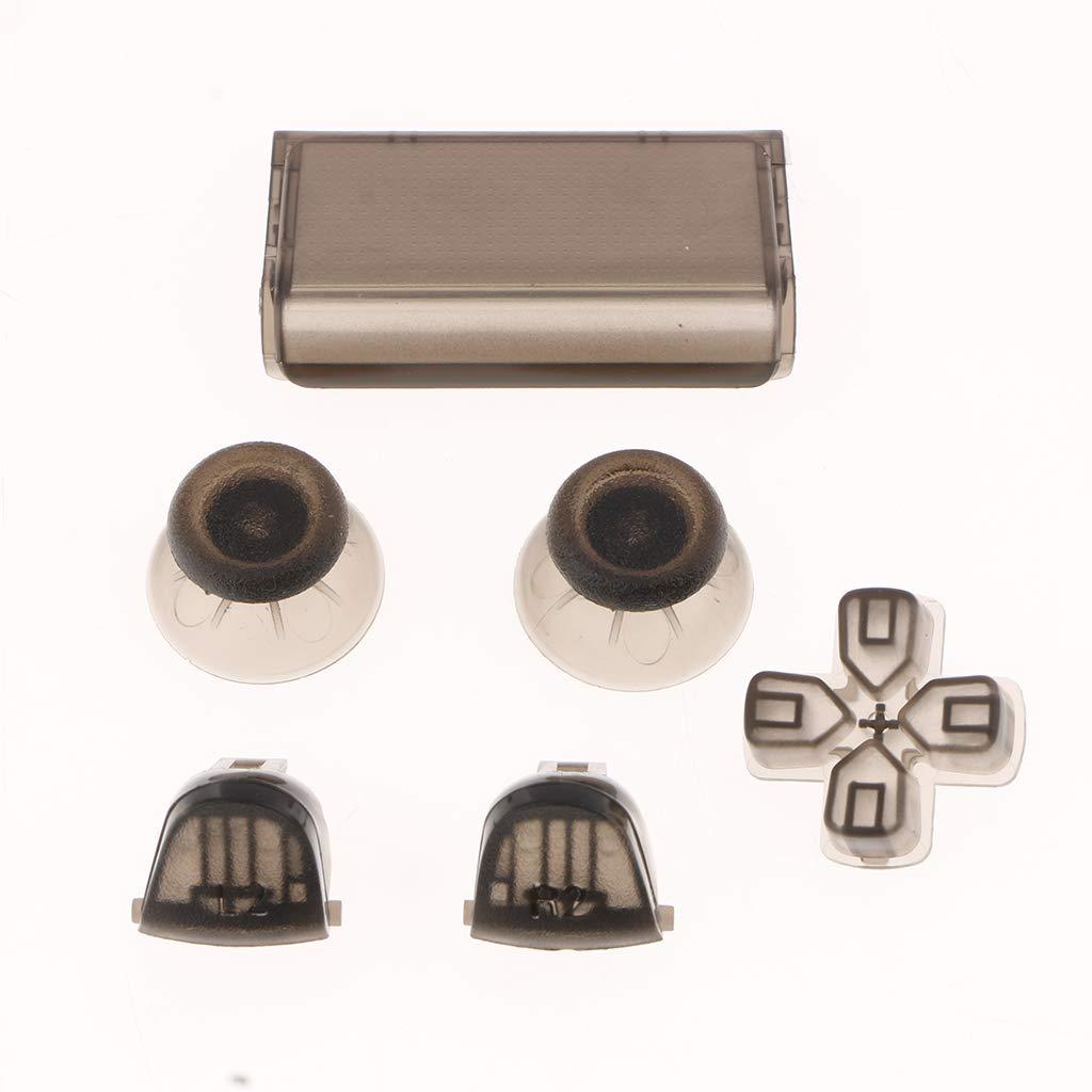 Shiwaki Conjunto De Botones De Controlador Completo De Reemplazo para Sony Playstation 4 PS4 Pro Beige F