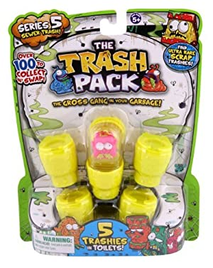Trash Pack Series #5 Figure, 5-Pack by Trash Pack