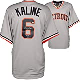 "Al Kaline Detroit Tigers Autographed Gray Majestic Replica Jersey with""HOF 1980"" Inscription - Fanatics Authentic Certified"