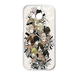 HTC One M8 Phone Case for Classic theme ATTACK ON TITAN Logo pattern design GCTAAOTT834588