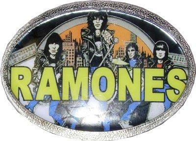 Metal Ramones (Men's RAMONES Punk Rock Metal Belt Buckle)