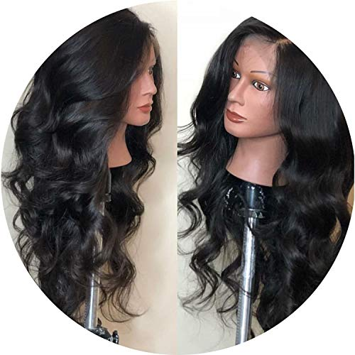150% Density Glueless Lace Front Wigs Wavy Non