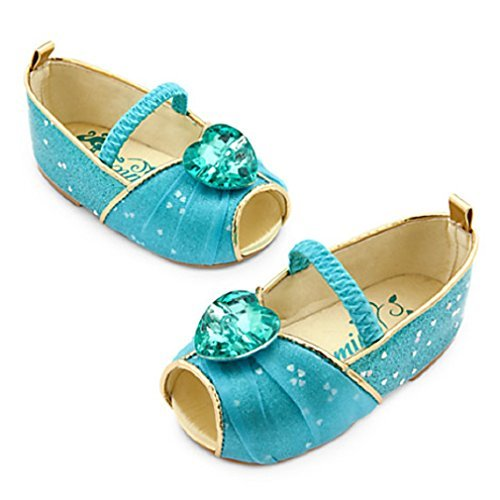 [Disney Authentic - Jasmine Costume Shoes for Baby - size 12 - 18 months] (Jasmine Costume Disney)