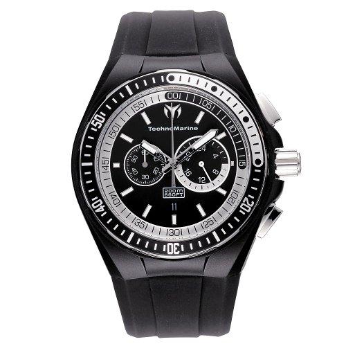 Technomarine Raft Watch - TechnoMarine Men's 110018 Cruise Sport Chronograph Black & White Dial Watch