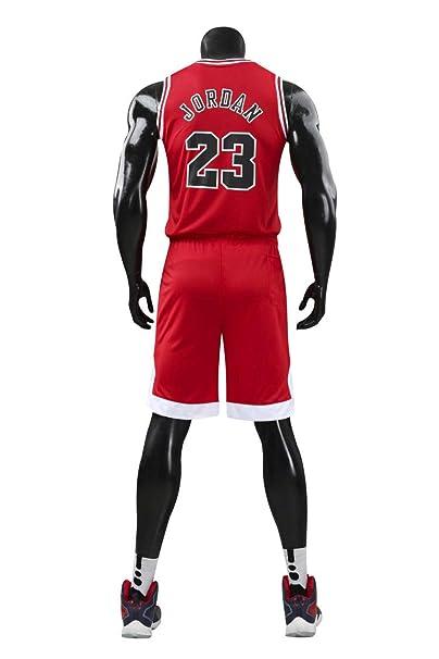 DEBND Camiseta de Baloncesto de Verano NBA Michael Jordan # 23 Chicago Bulls, Uniforme de Baloncesto para Hombre Top y Cortos
