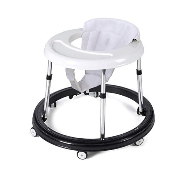 Andador antivuelco para bebé de 8 ruedas, andador de actividades ...
