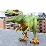 PAPWELL T Rex Toy 10.4 x 4.8 inch Jurassic World Park Fallen Kingdom Tyrannosaurus Rex Hot Toys Figure T-Rex Action Figures Christmas Halloween Collection Gift Collectable Gifts for Kids Children