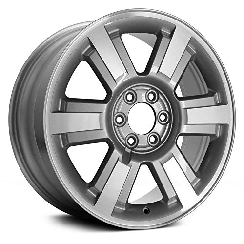 (Replacement Replica 6 Spokes Machined and Silver Factory Alloy Wheel Fits Ford F-150)