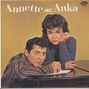 Annette Funicello Tutti Camarata Paul Anka Annette