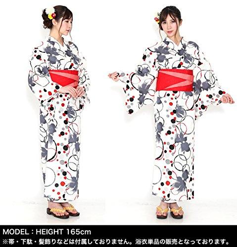 玉城ティナ×キスミス(2016年モデル)浴衣女性レディース単品プレタ和装着物モダンレトロ6TSY-23