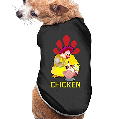 [Dog Clothes Chicken Pet Clothes Supplies Soft And Warm Polyester Fiber Pet Pet Clothing] (Chicken Nugget Costume)