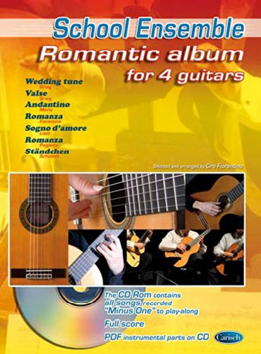 ntic Album (Arr Fiorentino Ciro) 4 Guitars Book/Cd ()