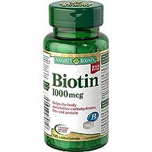Nature's Bounty Biotin 1000mcg 100 count
