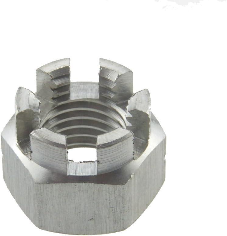Kronenmutter DIN 935-1 6 Stahl blank M 20-25 St/ück