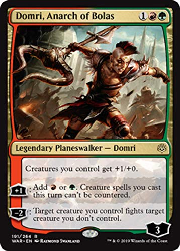 Magic: The Gathering - Domri, Anarch of Bolas - War of The Spark