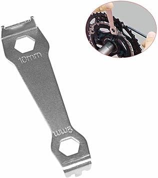 Bike Sprocket Wrench Chain Ring Fixed Nut Crankset Bolt MTB Repair Spanner Tool