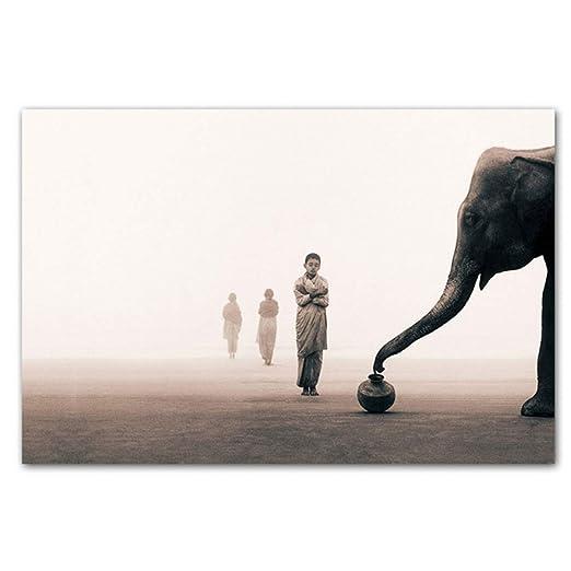 Imagen de Buda Pintura moderna sobre lienzo Impresión ...
