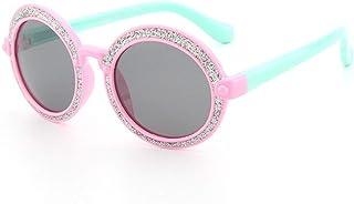 ERTMJ Occhiali da Sole Rotondi per Bambini Occhiali da Sole per Bambini Grande Scatola Rotonda Occhiali da Sole Maschili E Femminili Occhiali da Sole