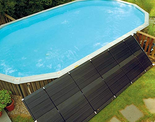 Sunheater Wws421p Heating System Includes Two 2 X 20 Panels 80 Sq Ft Solar Heater For Aboveground Pools Made Of Durable Polypropylene Raises Temperature Up To 15 F S421p