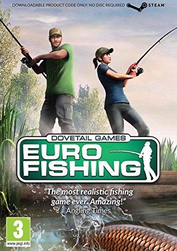 Euro Fishing (DOWNLOADABLE CODE IN - Rapala Pro Fishing Pc