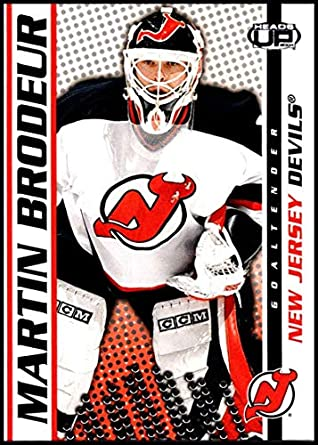 2003-04 Pacific Heads Up  58 Martin Brodeur New Jersey Devils Official NHL  Hockey 9c290717f