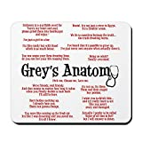 CafePress Grey's Anatomy Quotes Non-Slip Rubber Mousepad, Gaming Mouse Pad